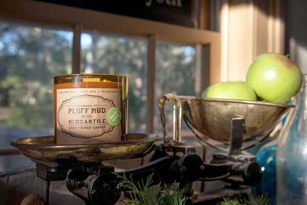"""Baked Apple"" Hand Poured Soy Candle - Pluff Mud Mercantile"