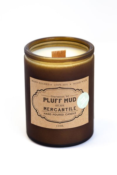 """Good Lawd Gardenia"" Hand Poured Soy Candle - Pluff Mud Mercantile"