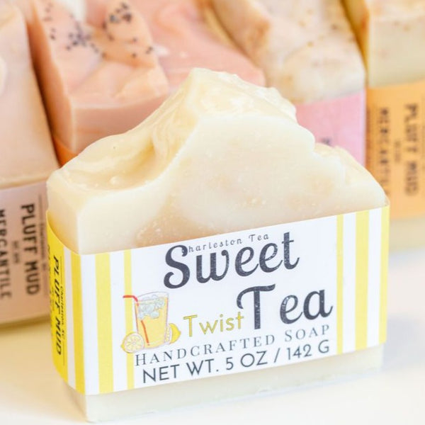 Sweet Tea Twist Handcrafted Soap - Pluff Mud Mercantile