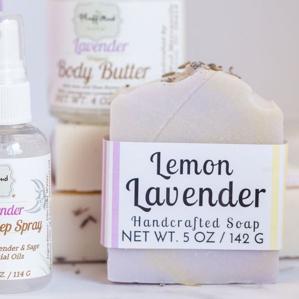 Lemon Lavender Handcrafted Soap - Pluff Mud Mercantile