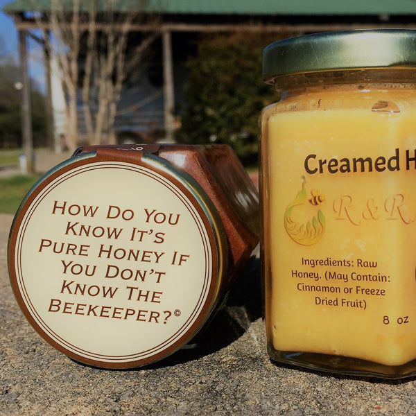 Local Honey from the Beekeeper - 4oz. - 2.5 lb. - Pluff Mud Mercantile