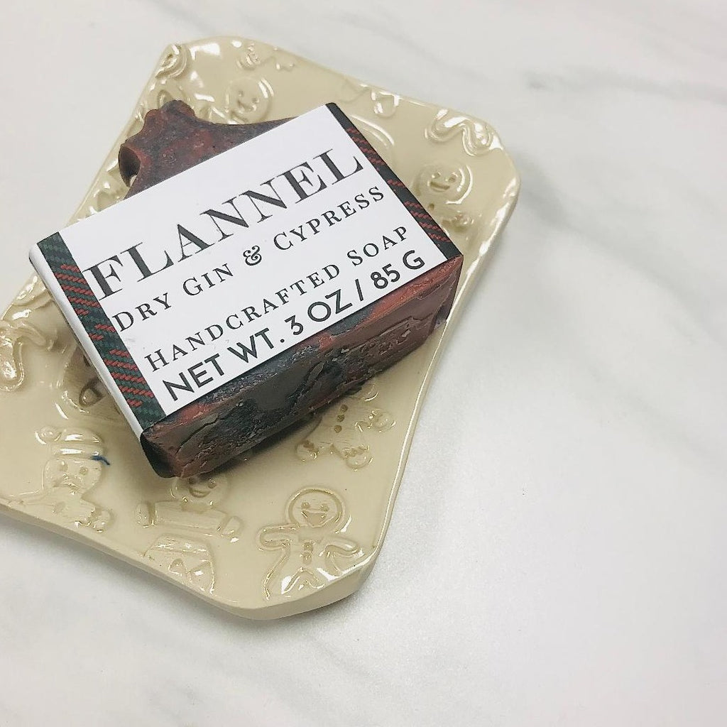Flannel Holiday Handcrafted Soap