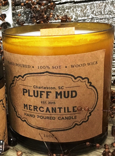 """Campfire"" Hand Poured Soy Candle - Pluff Mud Mercantile"