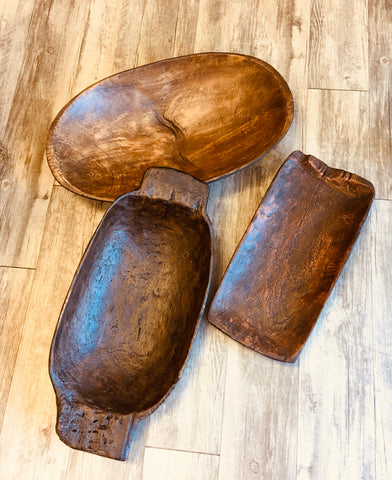 Distressed Dough Bowls