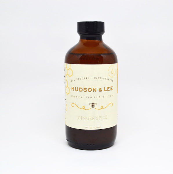 Honey Simple Syrup ~ Hudson & Lee - Pluff Mud Mercantile