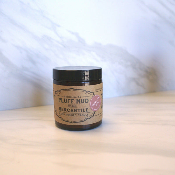 """Peony"" Hand Poured Soy Candle - Pluff Mud Mercantile"