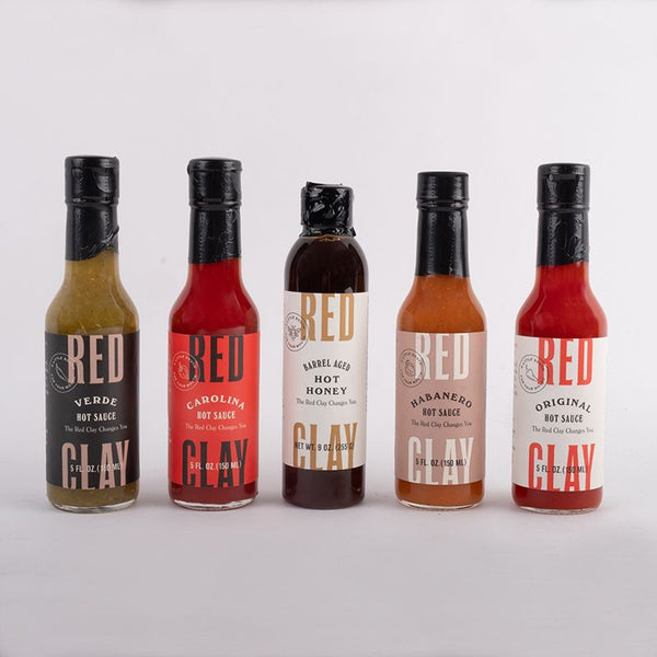 Carolina Red Clay Hot Sauce 5 oz. - Pluff Mud Mercantile