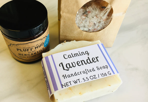 Lavender Self Care Kit - Pluff Mud Mercantile