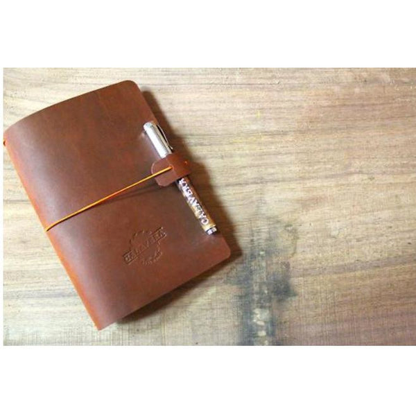 Handcrafted Leather Journal - Large - Pluff Mud Mercantile