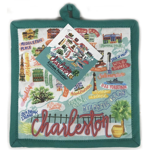 Charleston Icon Pot Holder - Pluff Mud Mercantile
