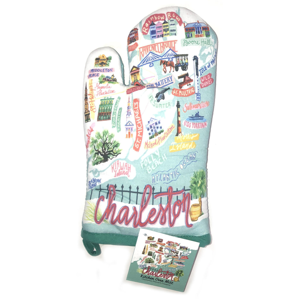 Charleston Icon Oven Mitt - Pluff Mud Mercantile