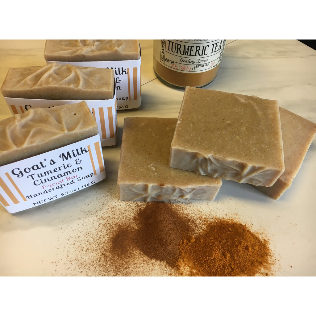 Goat's Milk Tumeric Handcrafted Soap