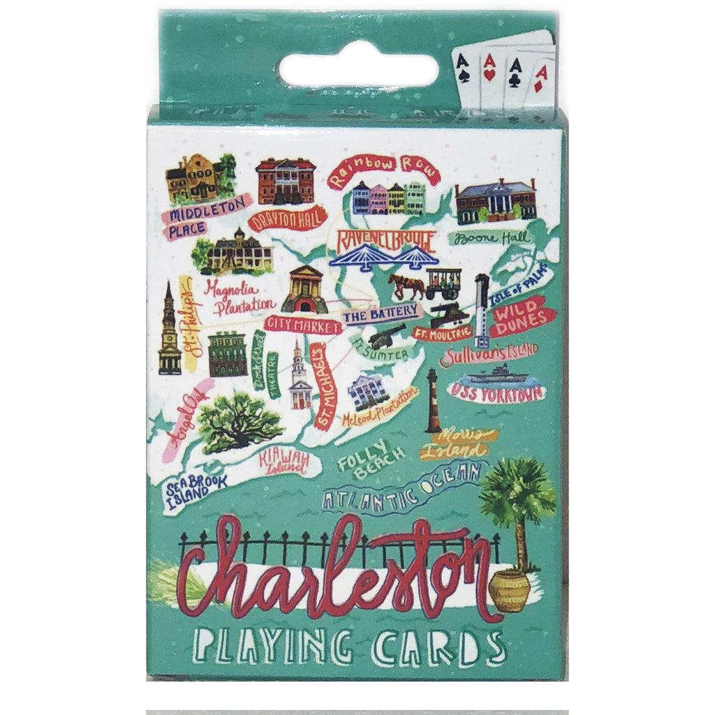 Charleston Icon Playing Cards - Pluff Mud Mercantile