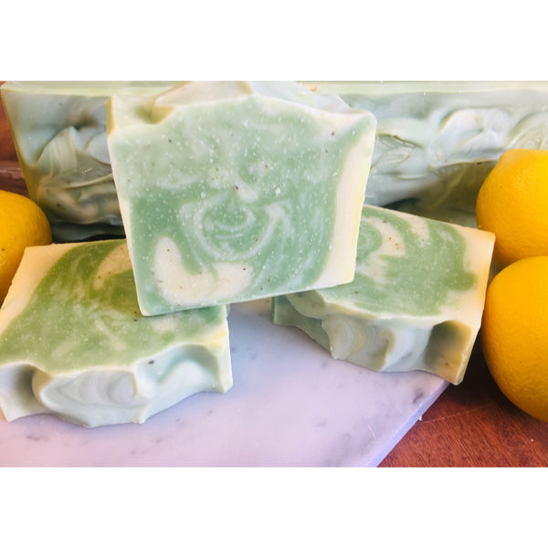 Twisted Lemon Handcrafted Soap
