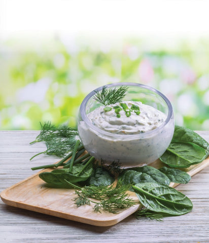 Creamy Spinach and Dill