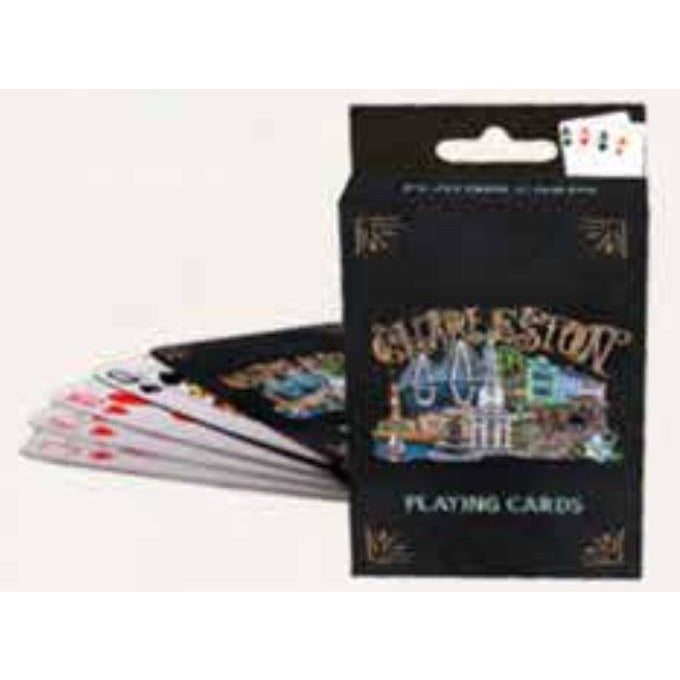 Charleston Chalkboard Playing Cards - Pluff Mud Mercantile