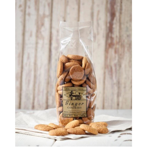 Ginger cookies - Pluff Mud Mercantile