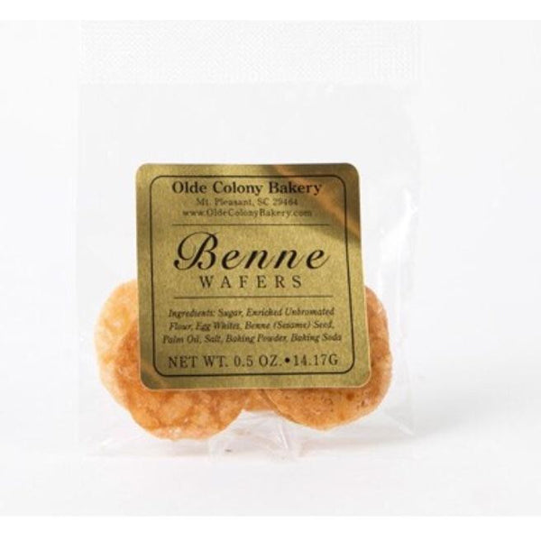 Turn Down Size or Event Favor Benne Wafer Packs - Pluff Mud Mercantile
