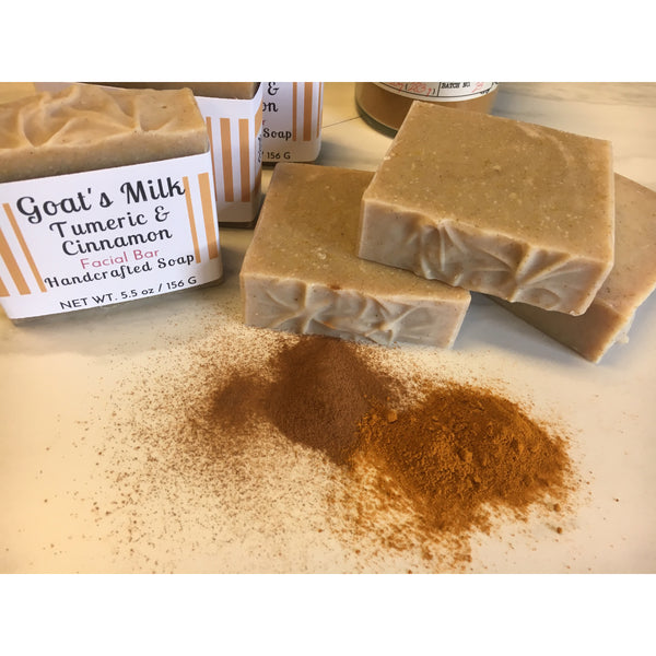 Goat's Milk Tumeric Handcrafted Soap - Pluff Mud Mercantile