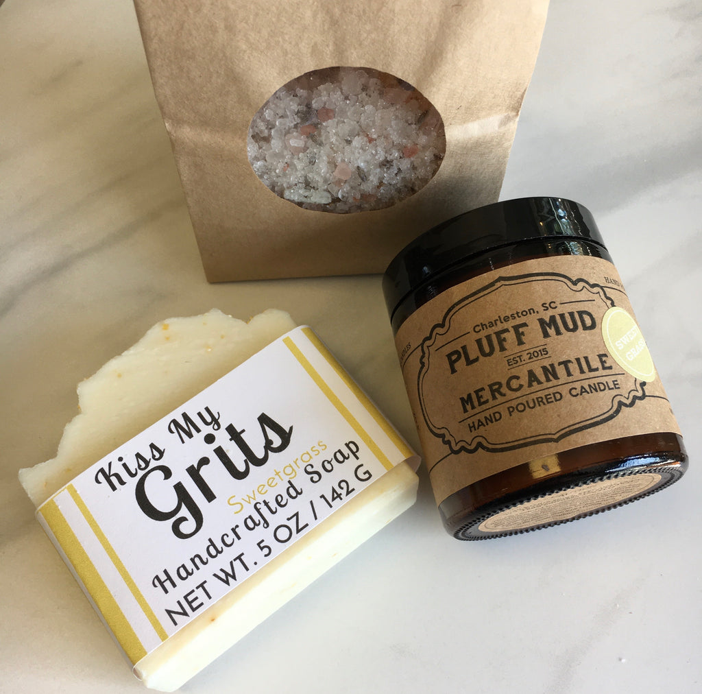 Kiss My Grits Self Care Kit - Pluff Mud Mercantile