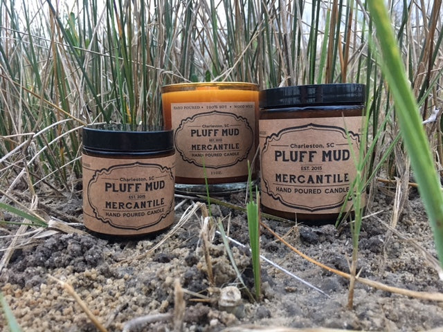 """Back Porch"" Hand Poured Soy Candle - Pluff Mud Mercantile"