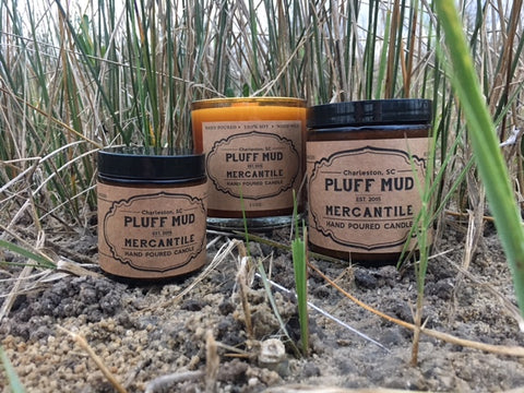 """Southern"" Hand Poured Soy Candle - Pluff Mud Mercantile"