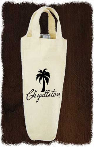 Ch'yallston Single Wine Canvas Tote