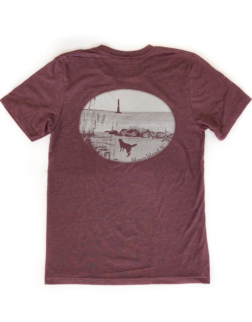 Local Dog Morris Island T-Shirt - Pluff Mud Mercantile