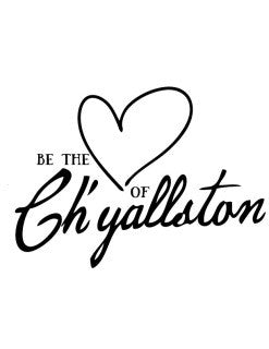 Be the Heart of Ch'yallston Flour Sack Towel