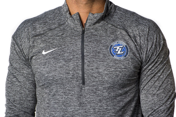 Nike Heather Element Anthracite 1/4 Zip Top