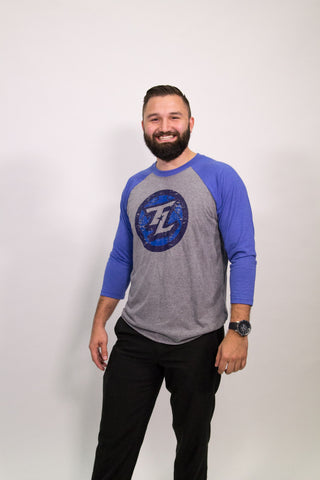 Texas Legends Secondary Baseball Tee