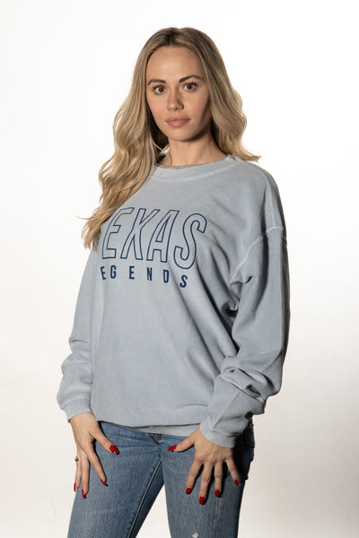 Chicka-D Texas Legends Corded Sweatshirt