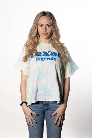 Chicka-D Legends Tie Dye Slouchy Tee