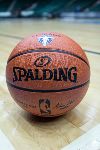 Spalding Big Orange Logo Basketball