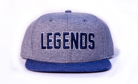 "Sportiqe ""LEGENDS"" Flat Brim"
