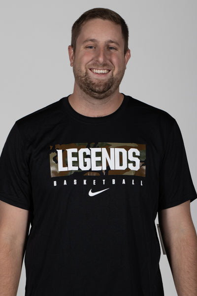 Nike Legends Basketball Camo SS Tee