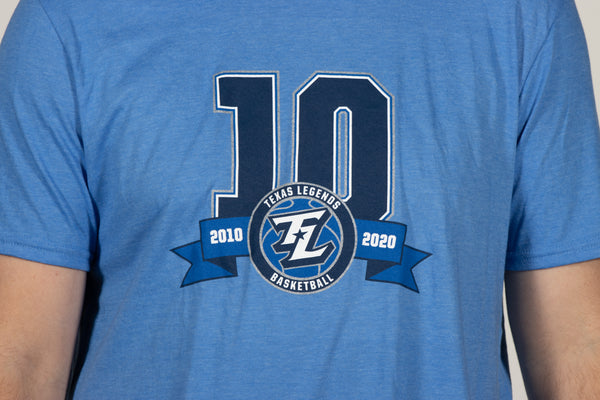 Legends 10 Year Celebration Tee