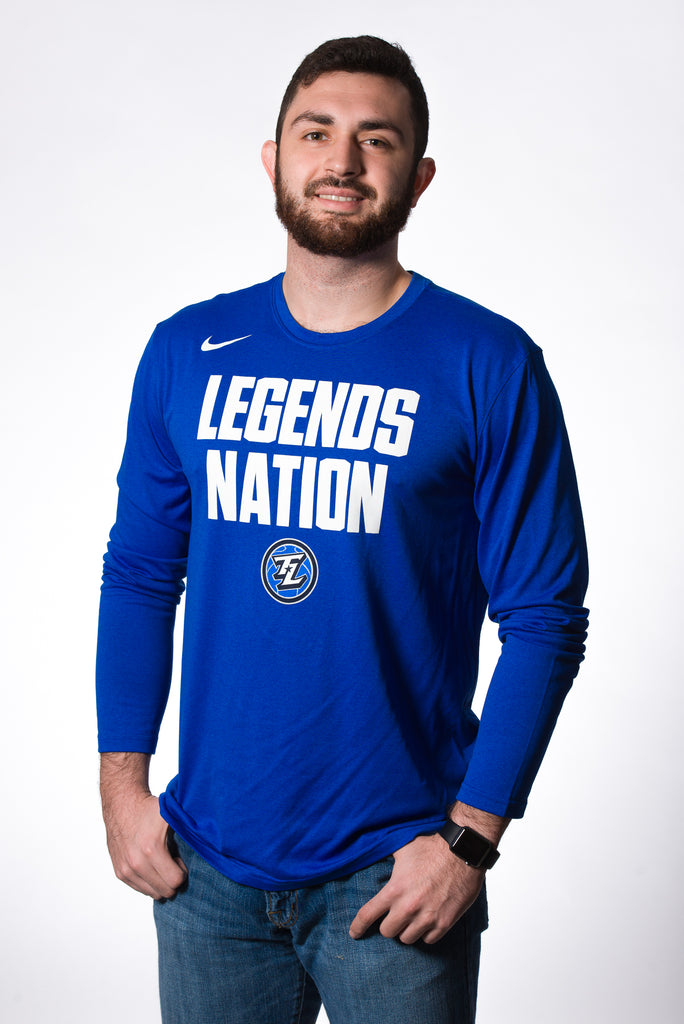 Nike Dri-Fit Legends Nation: LS Royal Blue