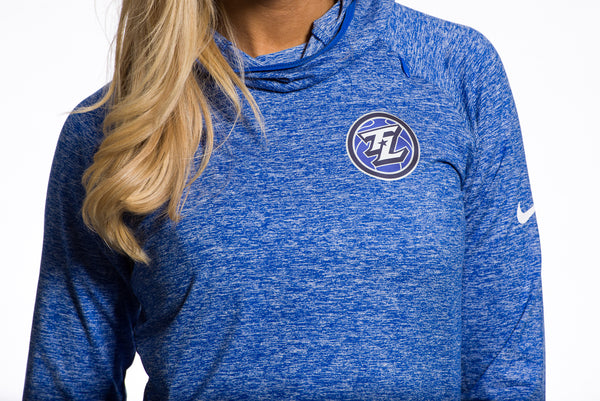 Nike Heathered Royal Blue Element Hoody