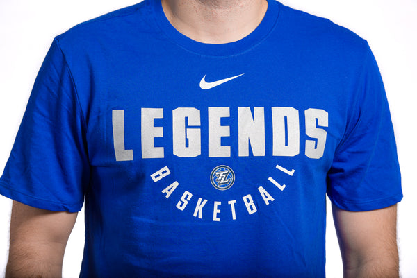 Nike Dri-Fit Practice Replica Tee: SS Royal Blue
