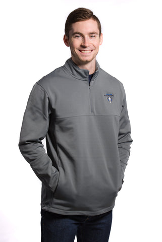 Nike Therma-Fit 1/2 Zip: Grey