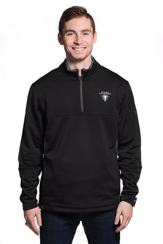 Nike Therma-Fit 1/2 Zip: Black