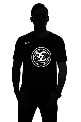 Nike Flash Tri-Blend Tee: Black