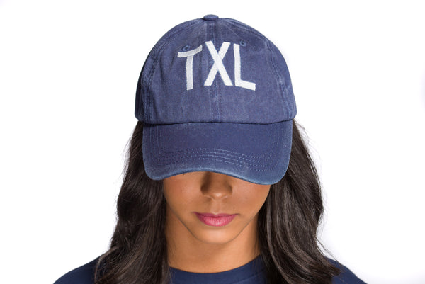 Slouchy Block TXL Navy Hat