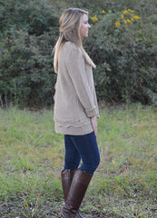 Fall Fashion Brown Sweater