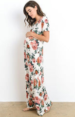 Hello Miz USA Maternity Floral Dress