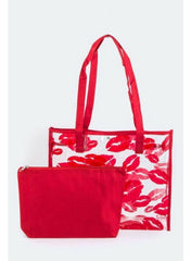 Lip Clear Beach Tote