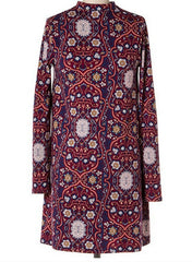 Paisley Knit Dress