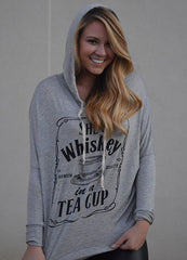 She's Whiskey in a Teacup Hoodie