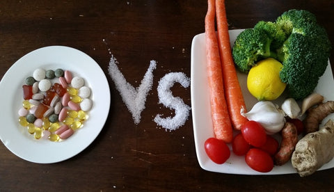 food vs supplements